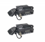 12v Multi Channel AM/FM CB Radio Transceiver Twin Pack